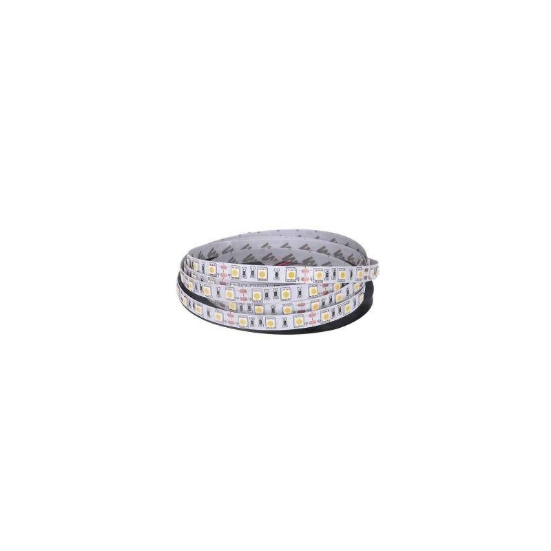 Banda LED 5050 Alb Cald 12V, 60 LED/m, IP20