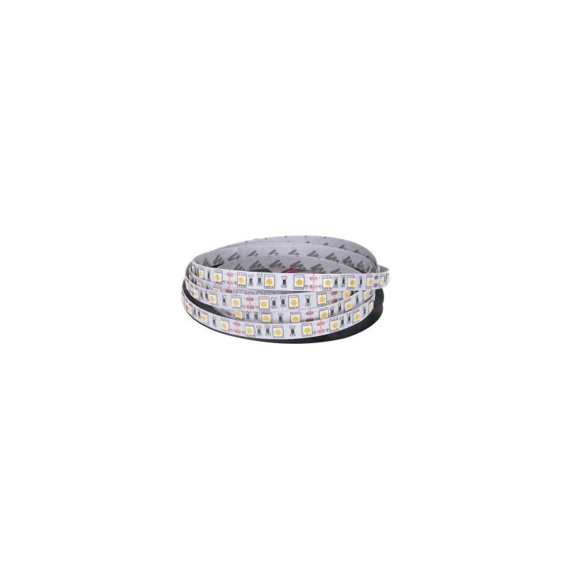 Banda LED 5050 Alb Cald 12V, 60 LED/m, IP20 (NW)