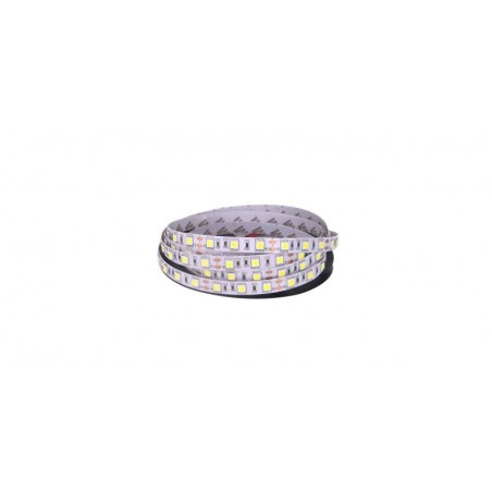 Banda LED 5050 Alb Rece 12V, 60 LED/m, IP20