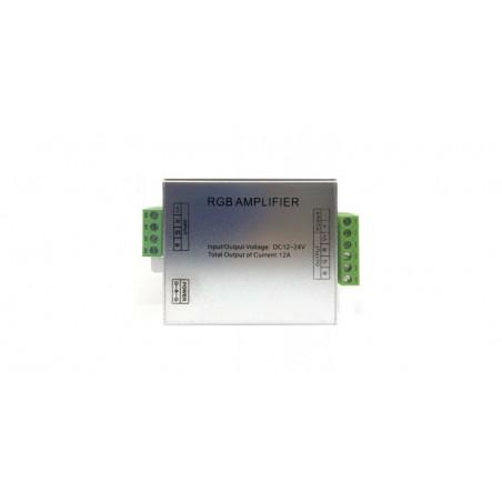 Amplificator RGB, 12-24 V, 12 A