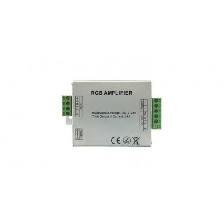 Amplificator RGB, 12-24 V, 24 A