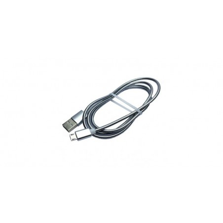 Cablu metalic USB-microUSB 1m