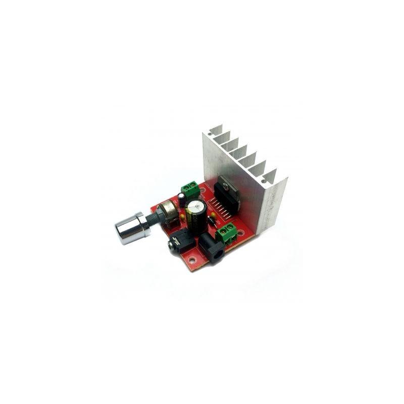 Amplificator 2X15W cu TDA7297
