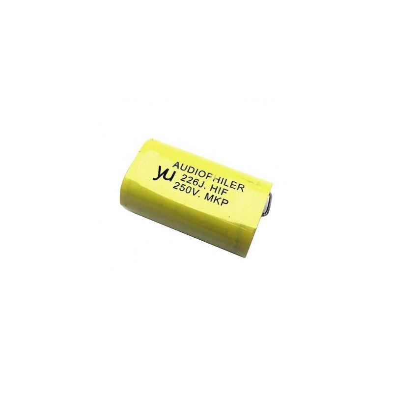 Condensator audio MKP galben 22uf/250V