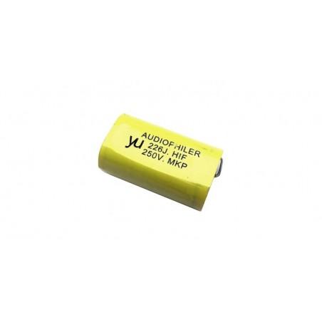Condensator audio Audiophiler MKP galben 22uf/250V