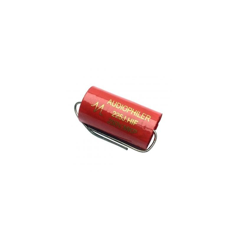 Condensator audio MKP rosu 2.2uf/250V