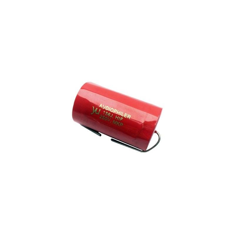 Condensator audio Audiophiler MKP rosu 15uf/250V