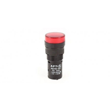Lampa de panou cu led 220V culoare rosie (dimensiune mica)