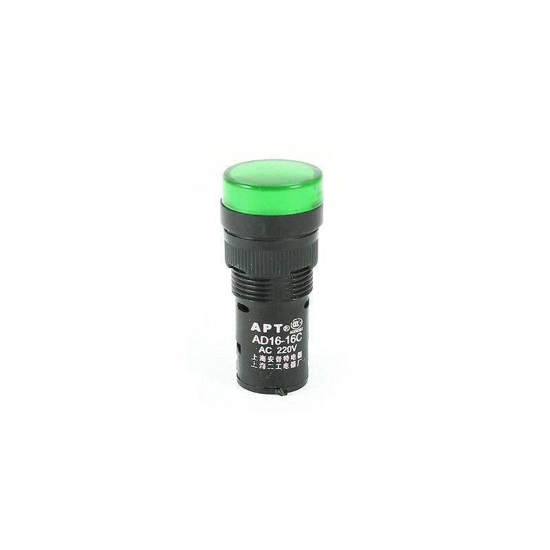 Lampa de panou cu led 220V culoare verde