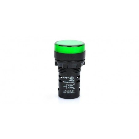 Lampa de panou cu led 220V culoare verde (dimensiune mare)