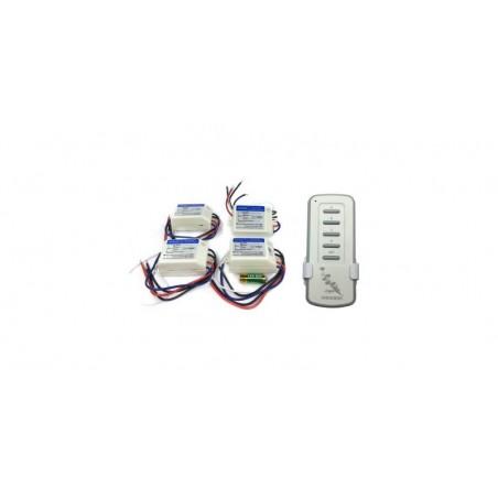 Telecomanda RF HONGDI cu 4 receptoare DH121N (lustra, lampa)