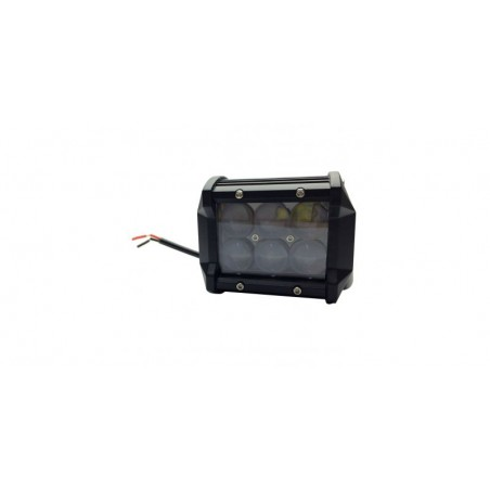 Proiector cu LED auto, 6 led-uri, 18w, Alb rece, 10cm, led off-road