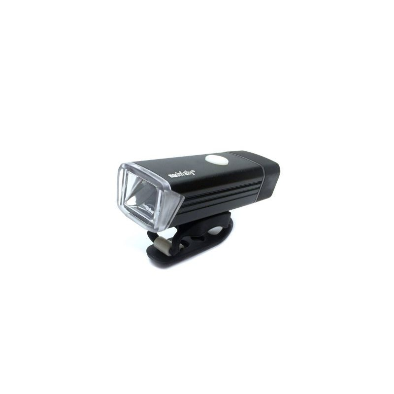 Proiector / Far bicicleta, reincarcabila USB, 1 led, Alb rece, 180Lm, Machfally MC-QD001