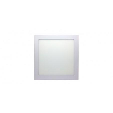 Panou cu LED patrat incastrabil, diametru 30cm, alb rece, 6500K, ultra-slim, 24W, 85-265V AC, (driver 54-96V)
