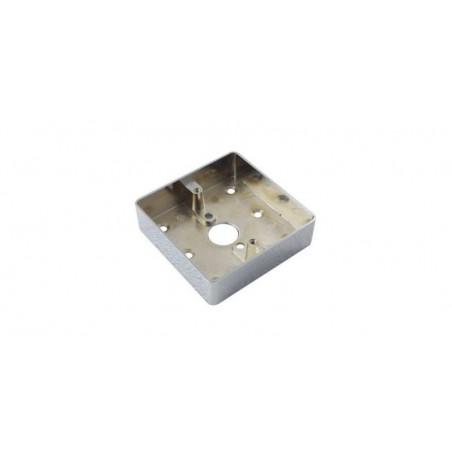 Carcasa metalica pentru montarea aplicata a butoanelor din metal (echivalent MBB-801B-M)