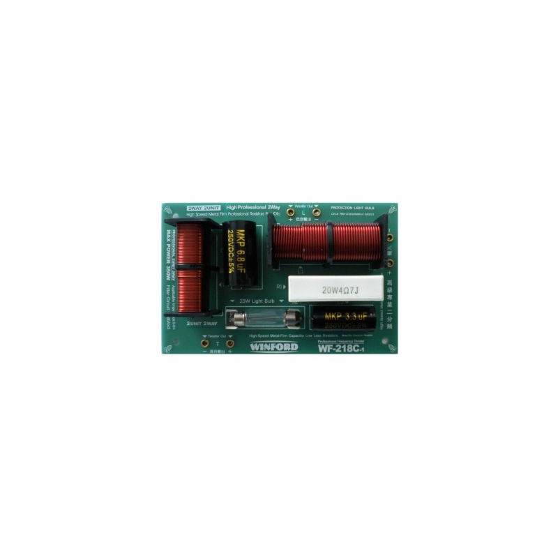Divizor profesional de frecventa audio crossover WF-218C-1
