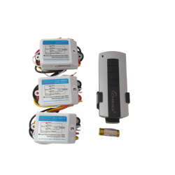 Kit lustra cu telecomanda RF cu 3 receptoare AYK018 DH121N3