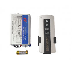 Telecomanda lustra RF YB-082A cu doua canale 10106526