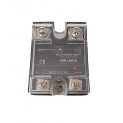 Releu Solid SSR-25DA 25A, 3 - 32 VDC, 24 - 380VAC