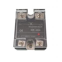 Releu Solid SSR-40DA 40A, 3 - 32 VDC, 24 - 380VAC