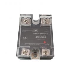 Releu Solid SSR-50DA 50A, 3 - 32 VDC, 24 - 380VAC