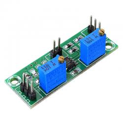 Amplificator operational pentru semnale slabe cu doua trepte