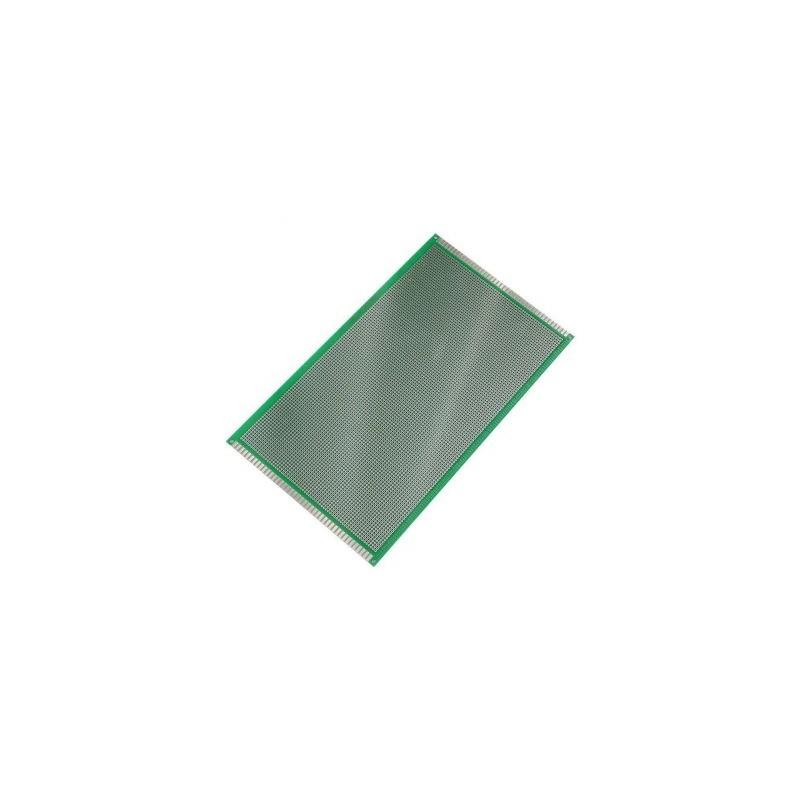 Placa Cablaj de Test Gaurita, Verde, 180x300mm 5400 puncte de lipire, placa universala circuite