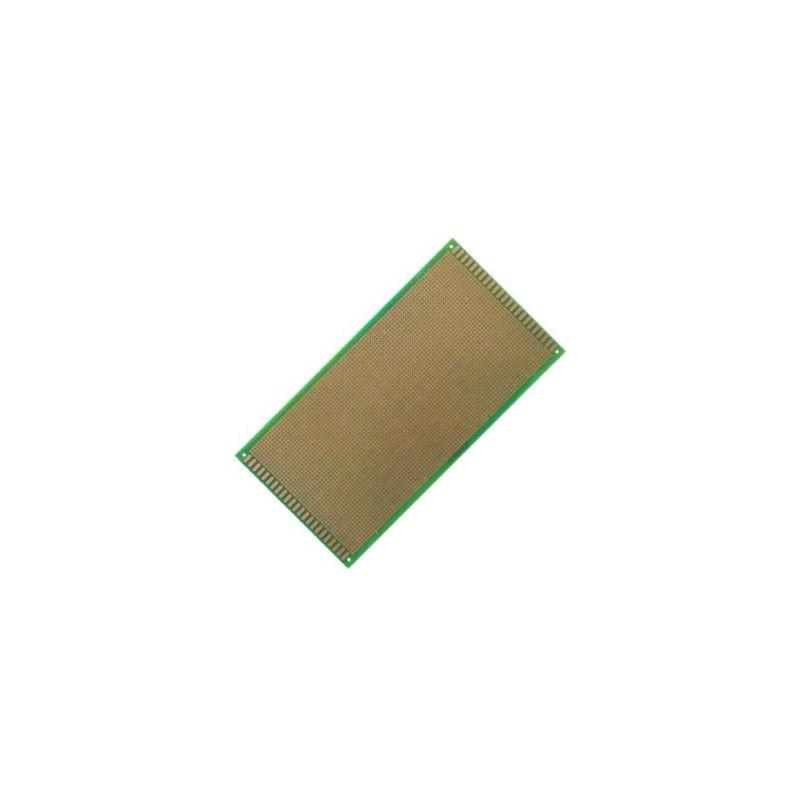 Placa Cablaj de Test Gaurita, Verde, 130x250mm 4050 puncte de lipire, placa universala circuite