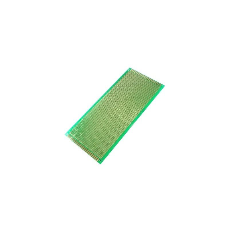 Placa Cablaj de Test Gaurita, Verde, 100x220mm 2800 puncte de lipire, placa universala circuite