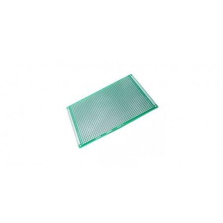 Placa de Test Gaurita, Verde, 120x180mm 2184 puncte de lipire, placa universala circuite