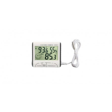Termometru si higrometru digital de exterior WDJ/DC103