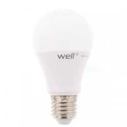 Bec cu led E27 12W 230V lumina calda Well LEDLW-A6012E27-WL