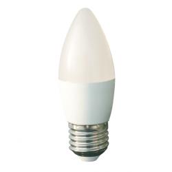 Bec cu led lumanare E27 7W 230V lumina rece Well