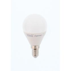 Bec cu led G45 E14 7W 230V lumina rece Well LEDLC-G457E14-WL