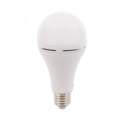 Bec cu led cu acumulator A60 E27 7W 230V lumina rece Well