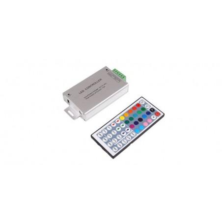 Controler banda LED RGB IR metalic, KEY 44