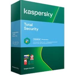 Kaspersky Total Security 5 PC ani: 2, noua