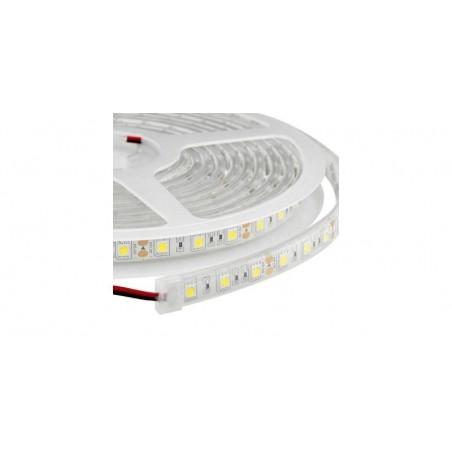 Banda LED submersibila, SMD 5050 Alb Cald, 60 LED/m, IP68((Waterproof)