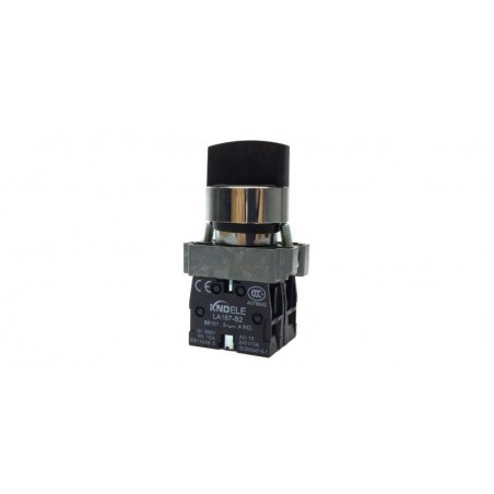 Comutator ON-OFF 1-0-1 cu 3 pozitii LA167-B2-BD33