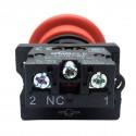 Buton cu cheie cu un contact si 2 pozitii LA167-B2-ES142