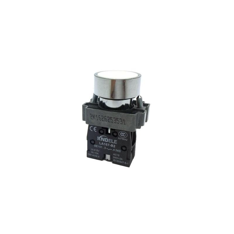 Buton cu apasare cu un contact si 2 pozitii LA167-B2-BA11