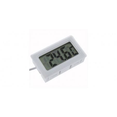 Termometru digital alb de panou TPM-10-W