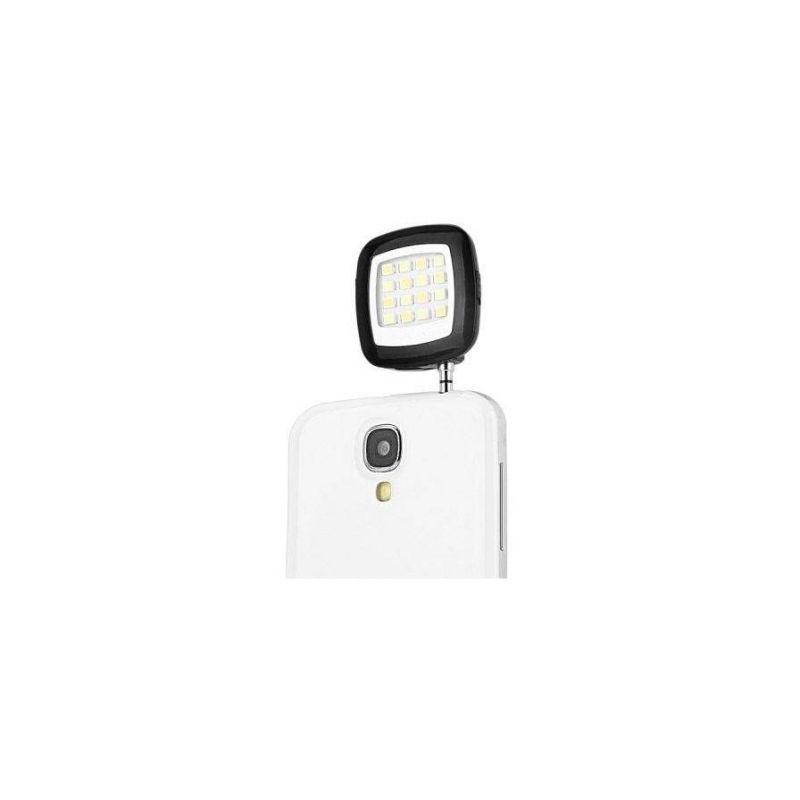Lanterna selfie suplimentara cu LED-uri, pentru telefoane mobile, conector jack 3.5