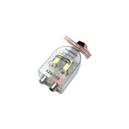 Adaptor auto High-Low pentru conversie semnal audio la semnal de linie RCA