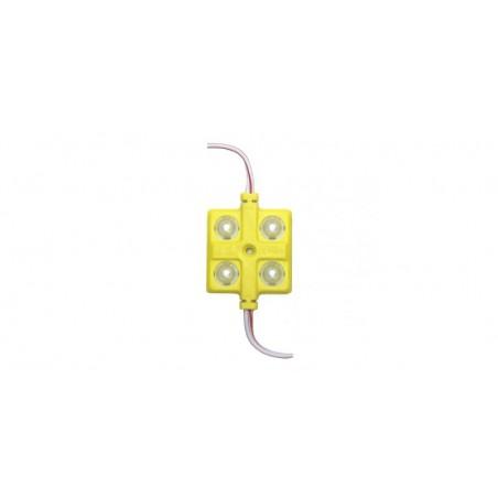 Modul 4 LED 5730, 12V, galben 3636-5730-Y