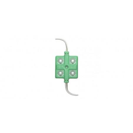 Modul 4 LED 5730, 12V, verde 3636-5730-G