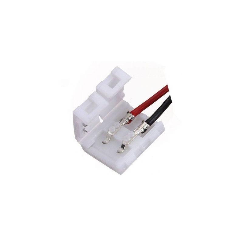 Cablu compatibil cu banda LED 5050 cu 2 clipsuri
