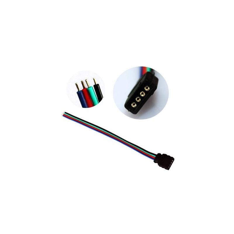 Conector RGB cu fire