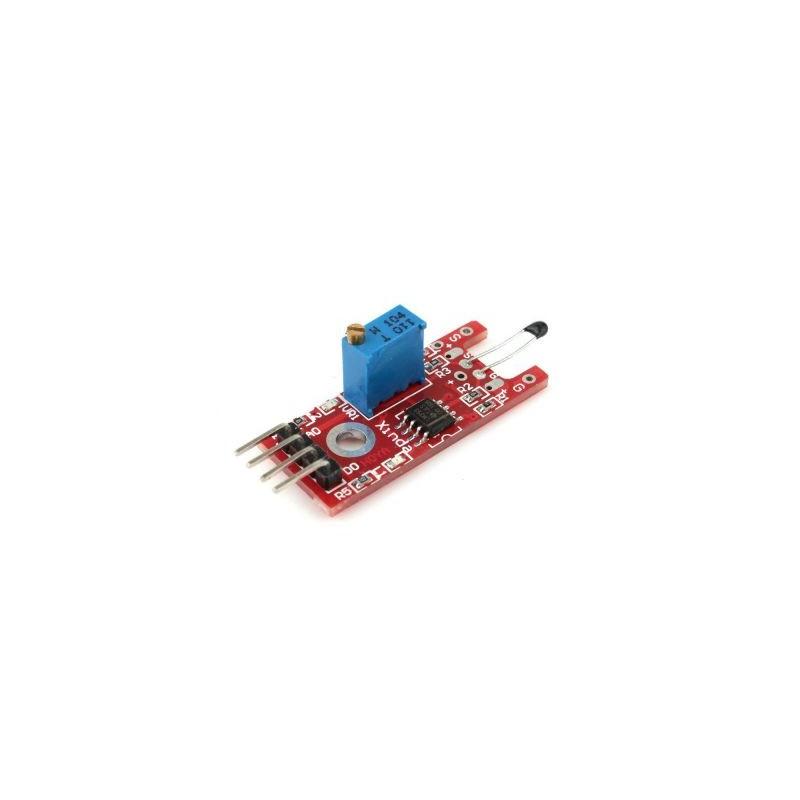 Modul termistor de masurat temperatura cu senzor KY-028 cablaj rosu