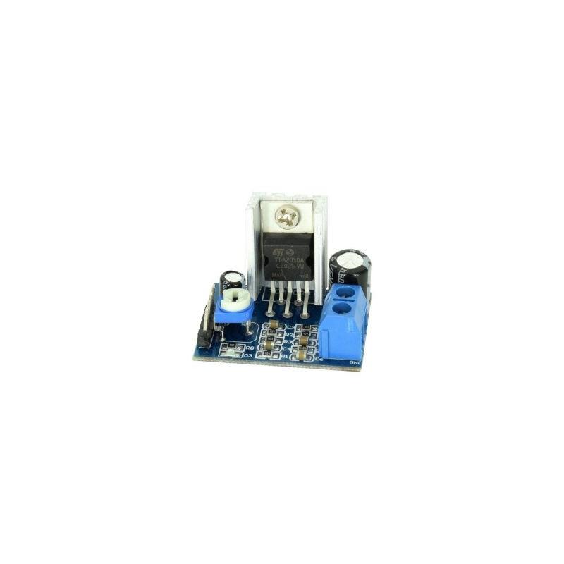 Modul amplificator audio de putere (TDA2030A)
